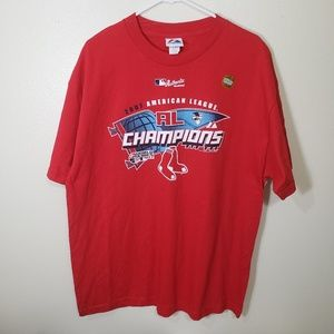 2007 Majestic AL Champions Red Sox in XL